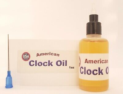 American Oil, the Best 100% Synthetic Oil for Lubricating Your Grandfather Clock