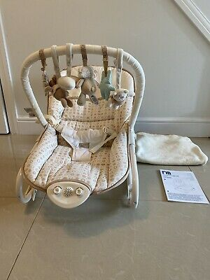 Mothercare 'Please Look After Me' Baby Rocker With Blanket & Instructions