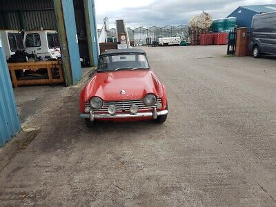 Triumph TR4 for light restoration
