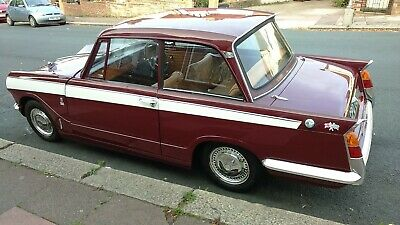 Triumph Herald 13/60 Red 1970