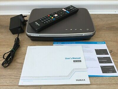 Humax FVP-4000T Freeview Play 500GB Recorder,3x Tuner,1080p,WiFi,Netflx,Catch up