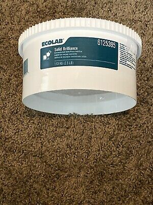 Ecolab SOLID BRILLIANCE!! (#25395) Solid Commercial Rinse Additive
