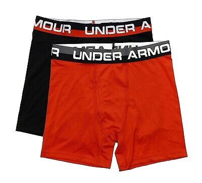 Under Armour 2 Pack Fitted Boxer Briefs Youth Size L 24264