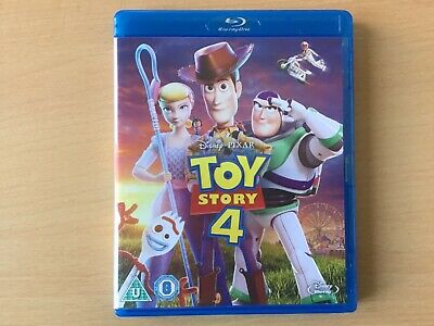Toy Story 4 (Blu-Ray - 1 disc, 2019). Watched once.