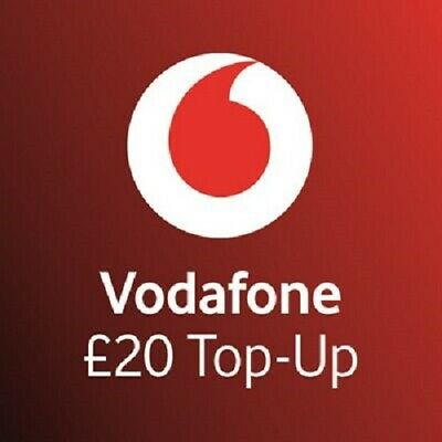 £20 - Vodafone - Mobile phone - Top Up Code / Vouche