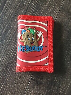 Red HEBuddy PVC Wallet