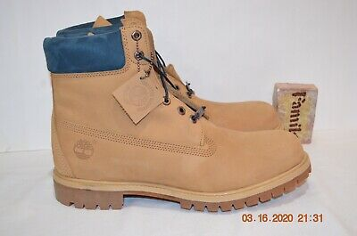 Timberland 6 Inch Icon Premium Waterproof Size 8 Men Boots A1LTS A2135 New