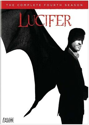 "Lucifer The Complete Fourth Season DVD - New ""Free Delivery"""