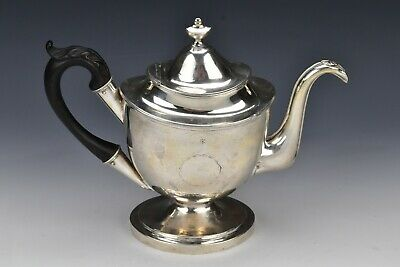 Early American Coin Silver Teapot S. Richards 1793-1818 Philadelphia 24.4 Troy