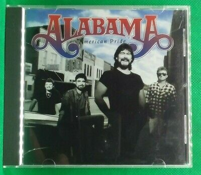 Alabama American Pride CD 1992 (A46) Country