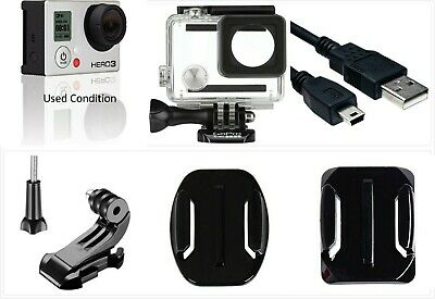 GoPro HERO 3 White Edition 1080P 5MP HD Sport Action Camera Waterproof Case