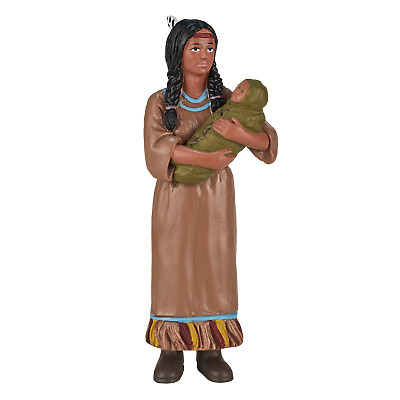 Mojo NATIVE AMERICAN INDIAN CHIEF figure jouets Play Modèle Plastique Figurine NEW