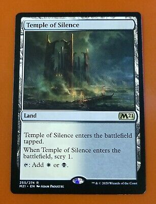 4x Temple of Epiphany Core Set 2021 M21 MtG MasteringtheGame