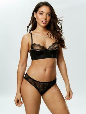Ann Summers Krystie Crotchless Suspender Knickers Size XS 4-6 New /& Tags RRP £18
