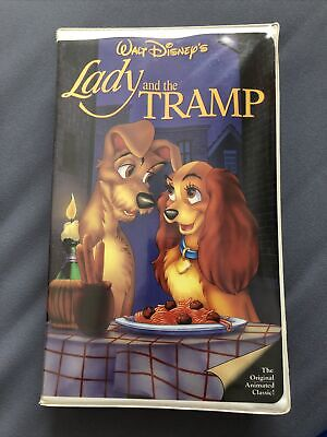 Lady And The Tramp Black Diamond Vhs 582 Clam Shell The Original Classic 67 00 Picclick