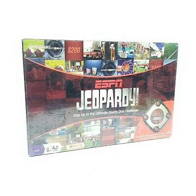 Espn Jeopardy Ultimate Sports Quiz Challenge New Sealed Sports Trivia Board Game 12 99 Picclick