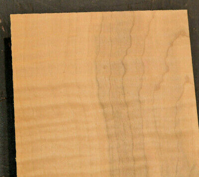 Curly Maple Raw Wood Veneer Sheets 7.5 x 20 inches 1//42nd Lot 64