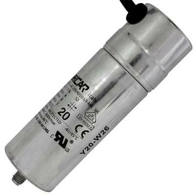 Start Capacitor Motor Capacitor 6µF 500V 35x78mm Connector 6,3x0 8mm iCar 6uF