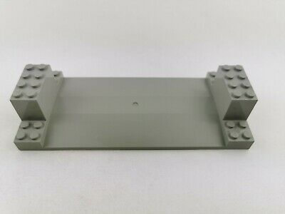 Lego City Bauplatte 30399 Set 6600 Highway Construction Grau Grundplatte