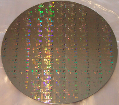 8 inch Tantalum Microchip Pattern Wafer on Silicon Matrix