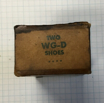 Lot Of 1 NEW OLD STOCK SUNNEN HONING GUIDE SHOES  WG-D SHOES (2) Shoes In Lot