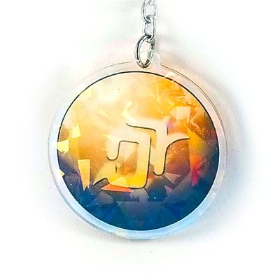 AST Astrologian Holographic Charm 2.5in Final Fantasy XIV FFXIV FF14 NEW