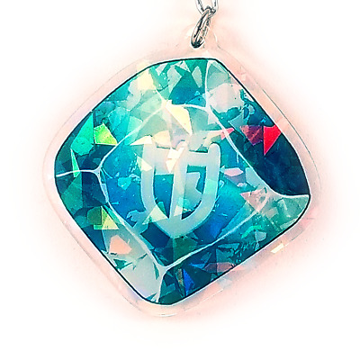 PLD Paladin Holographic Charm 2.5in Final Fantasy XIV FFXIV FF14 NEW