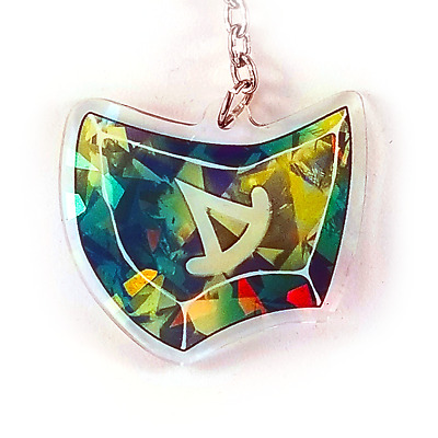 SMN Summoner Holographic Charm 2.5in Final Fantasy XIV FFXIV FF14 NEW