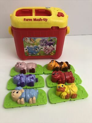 Leap Frog Farm Mashup Animals Carry Music Toy Play Children Kids Baby 27 30 Picclick