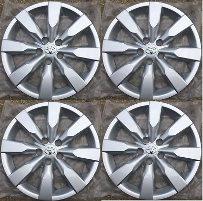 4 hubcaps Replacement for 2014 2015 2016 Toyota Corolla 16 inch hubcap 61172