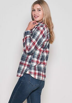 Brakeburn Ladies Check Flannel Shirt NEW!