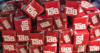 Tab Soda Cola One Single 12 Pack Brand New Unopened Cans 12 OZ FREE SHIP QTY