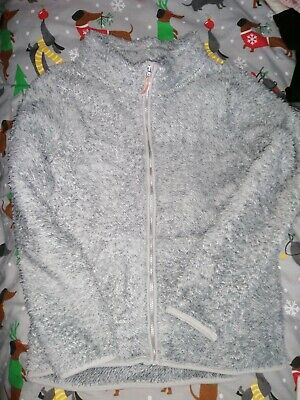 H&M long sleeved cosy jacket, age 8-10yrs