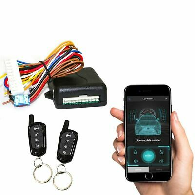 Keyless Entry System Central Universal Car Systems Auto Remote Kit Door Lock APP
