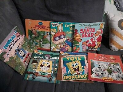 Story Time Assorted Bundle / Lot of 7 vintage Story Books for kids