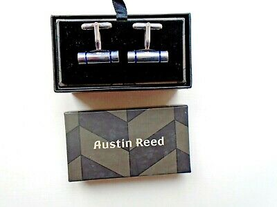 Austin Reed Cufflinks New In Box Silver Stone Last Few Left 7 99 Picclick Uk