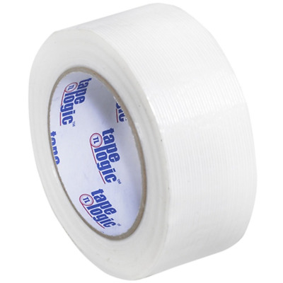Aviditi Tape Logic 2 Inch x 60 Yards, Reinforced Glass Filament Strapping Tape,