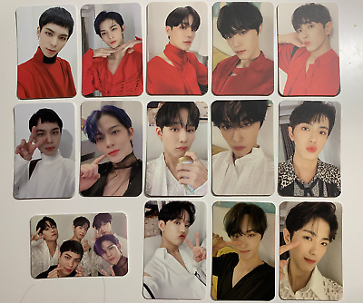 CIX CHAPTER 3 Hello Strange Time Official Photocard pc BX Yonghee Hyunsuk