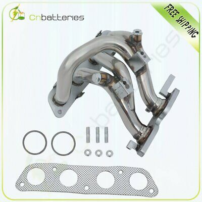 Stainless Racing Header Manifold Exhaust with Gasket Performance for 2000-2005 Toyota MR2 Spyder MRS ZZW30 1ZZ-FED