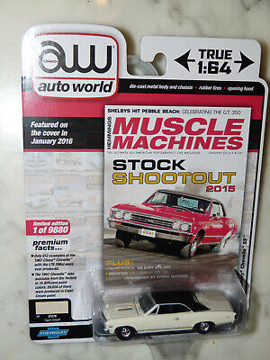 Auto World 1967 Chevy Chevelle SS Set of 2 AW64272 A/&B