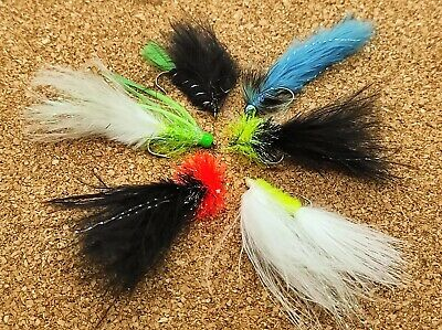 6 Cats Whiskers Eggstacy Worms.Fly Fishing trout fly lure