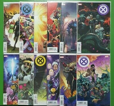 House of X 1-6 Complete Decade Character Variant Set X-Men Comic Lot Hickman