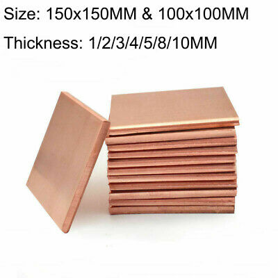 T2 Copper Sheet Plate Gasket High Precision 0.01//0.02//0.03//0.04//0.05~1mm Thick