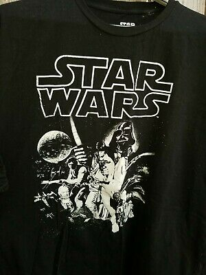 Star Wars T Shirt Official A New Hope Vintage Poster Movie S M L XL XXL