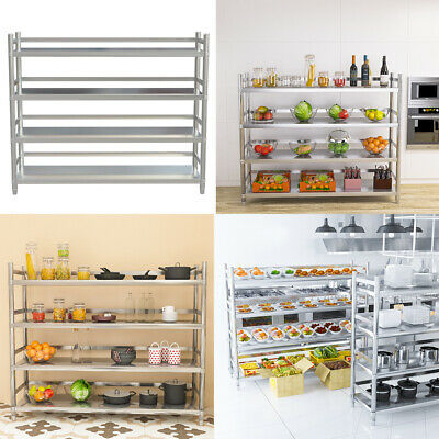Commercial Kitchen Shelf Stainless Steel Storage Rack Catering Shelving Units UK