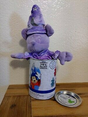 Disney Parks Ink /& Paint Sorcerer Mickey Plush Can Wave 2 Mystery New Sealed