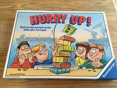 Little Treasures Cheese Burger Game with 17 Stacking Hamberger Pieces for 2-4 Players for Ages 3 and Up