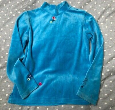 8 6 10 yr CATIMINI Girls Spaghetti strap bright floral ink stain flared top 5