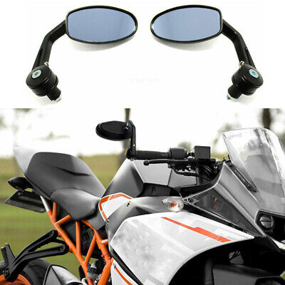 7//8 Motorcycle Handle Bar End Mirrors Side Mirrors for KTM Duke 790 690 390 125