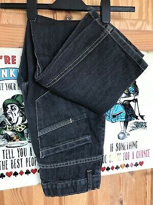 Age 12 Years Jeans Black Denim Straight Leg Trousers